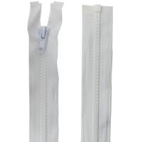 Fermeture injecté 55cm Blanc
