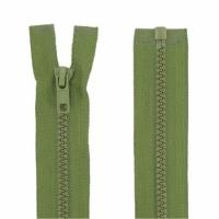 Fermeture injecté 80cm Vert Armée