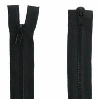 Fermeture  double curseur 50cm Noir