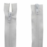 Fermeture  double curseur 55cm Blanc