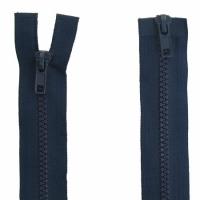 Fermeture  double curseur 70cm Bleu Marine