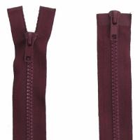 Fermeture  double curseur 90cm Bordeaux