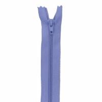 Fermeture pantalon 15cm Lilas Bleu