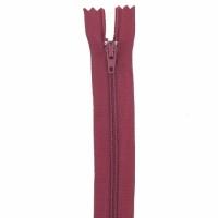 Fermeture pantalon 15cm Bordeaux