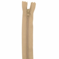 Fermeture pantalon 18cm Beige