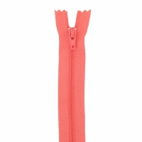 Fermeture pantalon 18cm Saumon