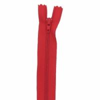 Fermeture pantalon 18cm Rouge Vif