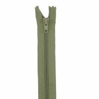 Fermeture pantalon 18cm Olive