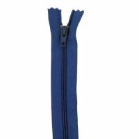 Fermeture pantalon 18cm Bleu de Prune