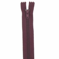Fermeture pantalon 18cm Wine