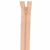 Fermeture pantalon 18cm Abricot