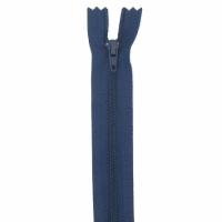Fermeture pantalon 18cm Bleu Marine
