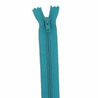 Fermeture pantalon 18cm Sarcelle