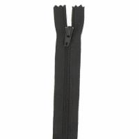 Fermeture pantalon 20cm Marron Foncé
