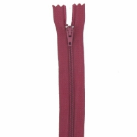 Fermeture pantalon 20cm Bordeaux