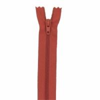 Fermeture pantalon 20cm Rouille