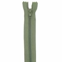 Fermeture pantalon 20cm Kaki