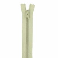 Fermeture pantalon 20cm Kaki Clair Pale