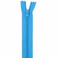 Fermeture pantalon 20cm Bleu Aqua