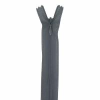 Fermeture invisible 22cm Gris