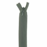 Fermeture invisible 40cm Vert Kaki