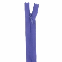 Fermeture invisible 40cm Violet