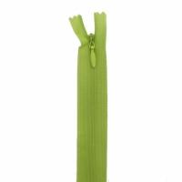 Fermeture invisible 40cm Vert Pomme