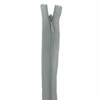 Fermeture invisible 40cm Gris Souris