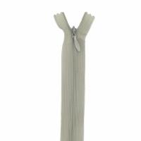 Fermeture invisible 60cm Kaki Clair