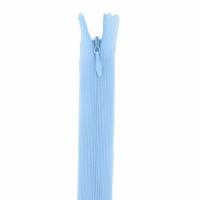 Fermeture invisible 60cm Bleu Clair