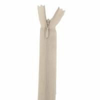 Fermeture invisible 60cm Beige Clair