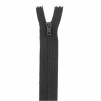 Fermeture pantalon métal 10cm Marron Foncé