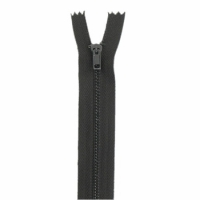 Fermeture pantalon métal 18cm Marron Foncé