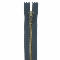 Fermeture jeans 5cm Bleu Marine