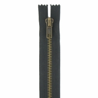 Fermeture jeans 8cm Noir