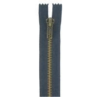 Fermeture jeans 18cm Bleu Marine