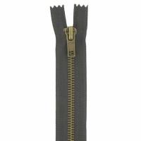 Fermeture jeans 18cm Marron Foncé