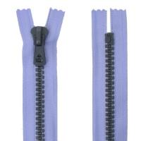 Fermeture bicolore injecté non séparable 50cm