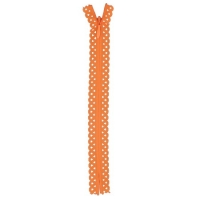 Fermeture dentelle invisible 40cm Orange