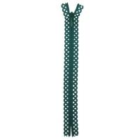 Fermeture dentelle invisible 40cm Vert Emeraude