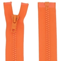 Fermeture injecté 35cm Orange