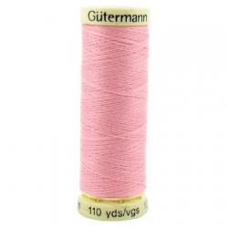 Fils pour tout coudre Gütermann  100m Rose clair