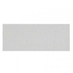 Élastique côtelé 35 mm blanc
