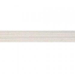 Élastique souple 12 gommes blanc