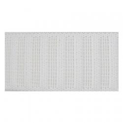Élastique Gros Grain 20 mm blanc