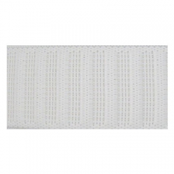 Élastique Gros Grain 25 mm blanc