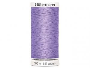 Fil à coudre Gütermann 500m col : 158 mauve