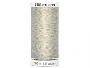 Fil à coudre Gütermann 500m col : 299 gris souris