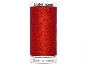 Fil à coudre Gütermann 500m col : 364 rouge