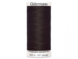 Fil à coudre Gütermann 500m col : 696 marron foncé
